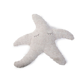 BAREFOOT DREAMS COZYCHIC STARFISH TOOTH FAIRY PILLOW-WHITE