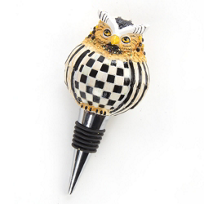 MacKenzie-Childs_Owl_Bottle_Stopper