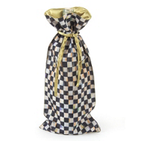MacKenzie-Childs_Courtly_Check_Wine_Bag