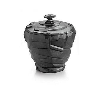 Michael Aram Rock Black Nickelplate Ice Bucket