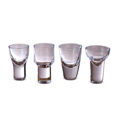 Simon Pearce Cordial Glasses, Set of 4