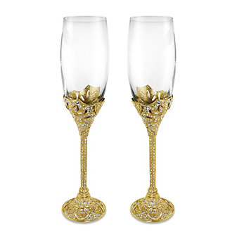 Olivia Riegel Gold Windsor Flute Set