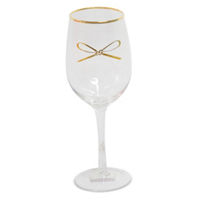 8_Oak_Lane_Wine_Glass,_Gold_Bow