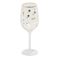 8_Oak_Lane_Wine_Glass,_Gold_Dot