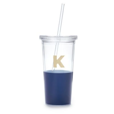 Kate Spade Dipped Initial Insulated Tumbler - K
