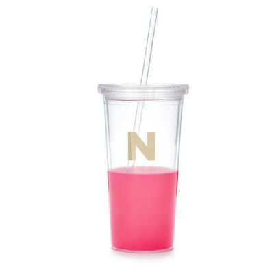 Kate Spade Dipped Initial Insulated Tumbler - N