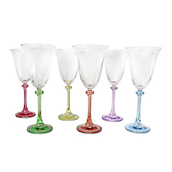 Galway Irish Crystal Liberty Party Pack, Set of 6 Goblets