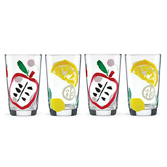 Kate Spade All In Good Taste Pretty Pantry 4-piece All Purpose Beverage