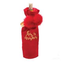 8_oak_lane_this_is_christmas_velvet_red_wine_bag