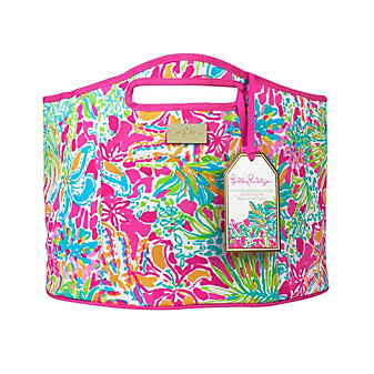 Lilly Pulitzer Oversized Insulated Beverage Bucket - Spot Ya