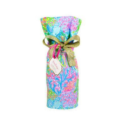 Lilly Pulitzer Wine Tote - Lover's Coral