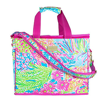 Lilly Pulitzer Insulated Cooler - Lover's Coral