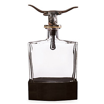 Jan Barboglio Nueces Longhorn Decanter