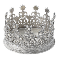 olivia_riegel_diana_crown_wine_coaster/candle_holder