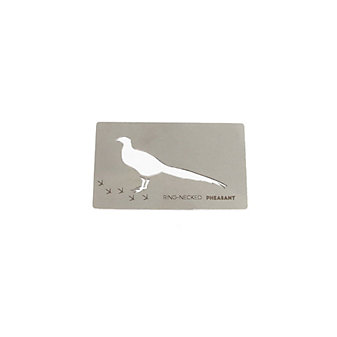 zootility pheasant wallet card bottle opener