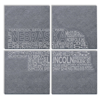 nebraska_etched_puzzle_slate_coasters,_s/4