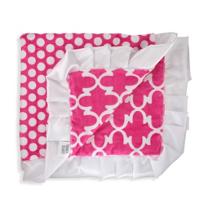 Swankie_Blankie_Hot_Pink_Lattice_Receiving_Blanket