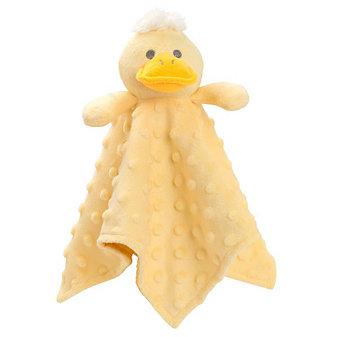 Elegant Baby Yellow Ducky Minky Blanket Buddy