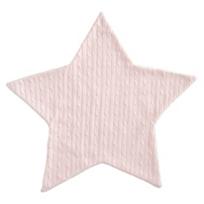 Elegant_Baby_Pink_Star_Cable_Blanket