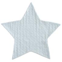 Elegant_Baby_Blue_Star_Cable_Blanket