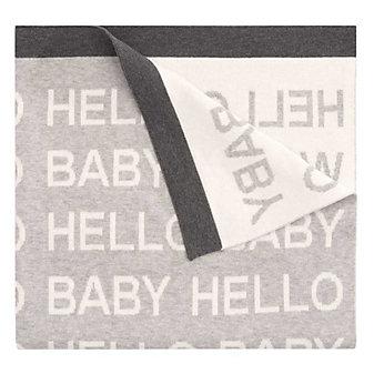 ELEGANT BABY HELLO WORLD BLANKET