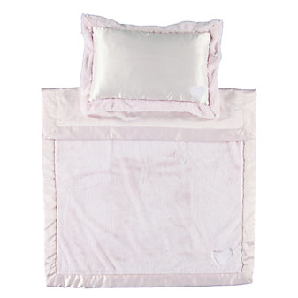 BAREFOOT DREAMS CUDDLE NAP-TO-GO PINK