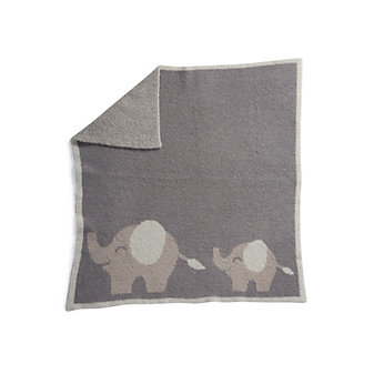 BAREFOOT DREAMS FOLLOW ME ELEPHANT BLANKET