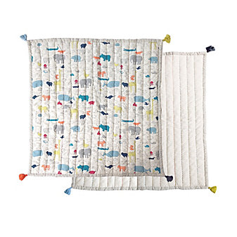 pehr & petit pehr noah's ark playtime blanket