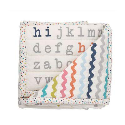 pehr & petit pehr hi alphabet blanket