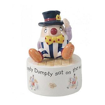 belleek aynsley humpty dumpty music box