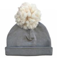 oh_baby!_cream_yarn_pom_2pc_hat_asphalt_small