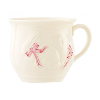 belleek bunny baby girl cup