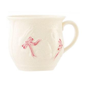 belleek bunny baby girl cup
