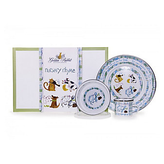 GOLDEN RABBIT NURSERY RHYME SET