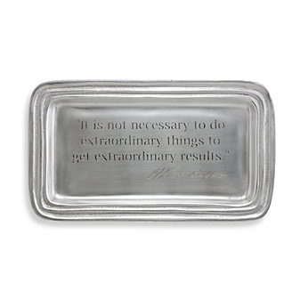 Warren Quote Tray by Mariposa
