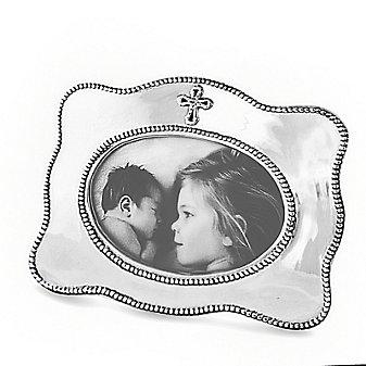Beatriz Ball Baby Cross Horizontal Frame (4X6)