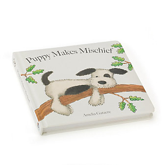 Jellycat Puppy Makes Mischief Book