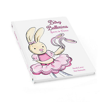Jellycat Bitsy Ballerina Book