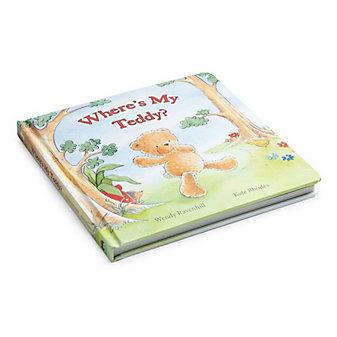 Jellycat Where's My Teddy Book