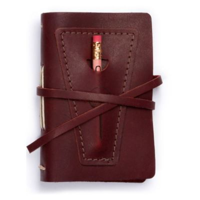RUSTICO GOLF LOG WITH POCKET, BURGUNDY