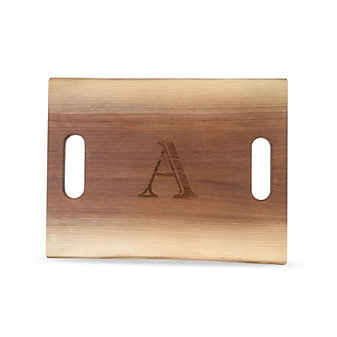 "Maple Leaf at Home Double Handled Cutting Board, ""A"""