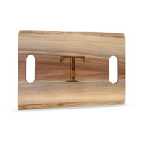 "Maple_Leaf_at_Home_Double_Handled_Cutting_Board,_""T"""