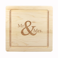 "Maple_Leaf_At_Home_12""_Square_Mr._&_Mrs._Board"