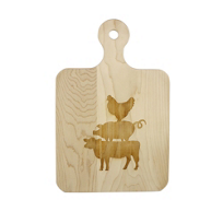 maple_leaf_at_home_handled_artisan_chicken_pig_&_cow_board