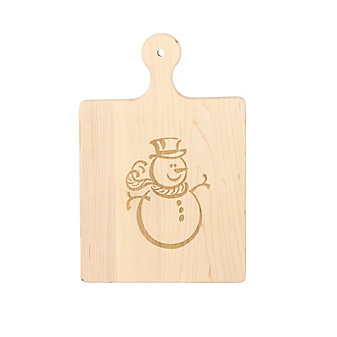 Maple Leaf At Home Snowman Board