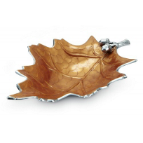 Julia_Knight_Spice_Oak_Leaf_Bowl,_19""