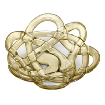Kosta_Boda_Small_Gold_Bowl