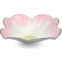 Julia_Knight_Pink_Ice_Multi_Dogwood_Bowl,_15""