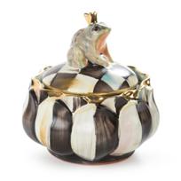 Mackenzie-Childs_Ceramic_Frog_on_Lidded_Dish