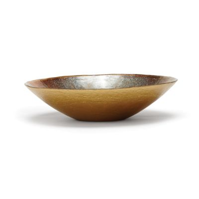 Vietri Earth Glass Medium Serve Bowl